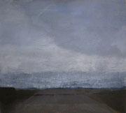 Lichter_5, Acryl/Pigment/Nessel, 90 x 100 cm, 2005
