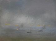 Schooner, Öl/Leinwand, 30 x 40 cm, 2015