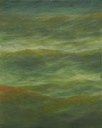 Wellen, Öl/Leinwand, 50 x 40 cm, 2016