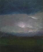 Lichter_2, Öl/Leinwand, 100 x 120 cm, 2014