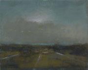 Autobahn, Öl/Leinwand, 30 x 40 cm, 2008