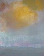 Wolke, Acryl/Pigment/Leinwand, 100 x 80 cm, 2009