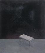 Das Tischchen, Öl/Leinwand, 90 x 80 cm, 2003