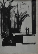 o.T., Tusche/Papier, 2003