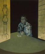 Beim Kölsch, Eitempera/Leinwand, 90 x 110 cm, 1996