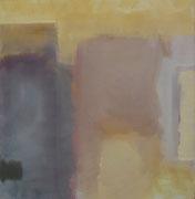 Köln, Acryl/Pigment/Nessel, 100 x 95 cm, 2005