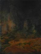 Les dentelles, Acryl/Öl/Baumwolle, 40 x 30 cm, 2012