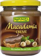 Die zart schmelzende Creme mit 26% frisch gerösteten Macadamianüssen ist ein Brotaufstrich für Genießer! Das buttrig süßliche Aroma der Macadamia ist unter Feinschmeckern sehr beliebt - sie wird auch die Königin der Nüsse genannt.
