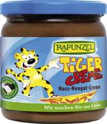 Frisch geröstete Haselnüsse, leckerer Kakao und Milch machen den Tiger super schokoladig und cremig. Kakao, Cristallino Rohrzucker und Palmöl sind fair gehandelt.
