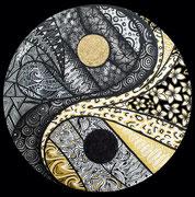 Ying & Yang circle30cm