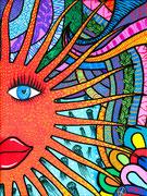 """ Sunshine "" 22 x 30cm                                         SOLD"