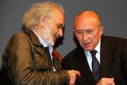 Jerry SCHARSBERG et Gérard COLLOMB - Lyon - Festival Lumière 2012 - Photo © Anik COUBLE