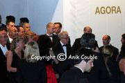 Woddy ALLEN à la sortie du diner d'ouverture / Photo : Anik Couble