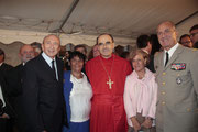 Gérard COLLOMB et le Cardinal Philippe BARBARIN - Lyon - 08 09 2013  - Photo © Anik COUBLE