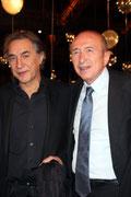 Gérard COLLOMB et Richard BERRY - Festival Lumière 2013 - Lyon - Photo © Anik COUBLE