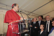 Gérard COLLOMB et le Cardinal Philippe BARBARIN - Lyon - 08 09 2013  - Photo © Anik COUBLE
