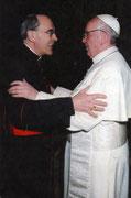 Pape François et  Cardinal Philippe BARBARIN