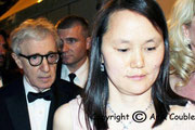 Woody ALLEN et sa compagne / Photo : Anik Couble