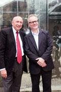Gérard COLLOMB et Thierry FREMAUX - Lyon - Juin 2012  - Photo © Anik COUBLE