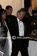 Robert DE NIRO, Président du Jury et son épouse / Photo : Anik Couble