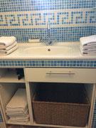 La Salle de bain  Gite de l'Amandier Chenonceaux