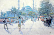 Blue Mosque, morning