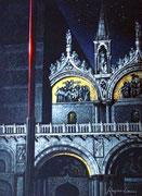 Night Glow, San Marco, Venic