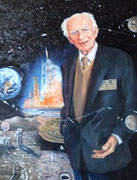 Reginald Turnill BBC Aerospace Correspondent for Moon Landings