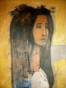 Janie, 1957 (huile sur bois, 50,5 x 65,5 cm, coll. part. JR)