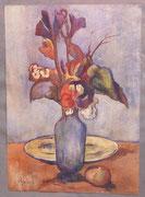 Fleurs (gouache, 44 x 32 cm, coll. part. JR)
