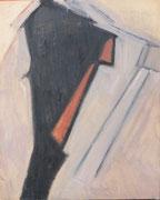 Portrait abstrait (gouache sur carton, 50 x 65 cm, coll. part. MR)
