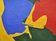 Interactivité de l'espace plastique, 1958 (huile, 110 x 148 cm, Musée de Cholet, cliché Mathilde Richard)