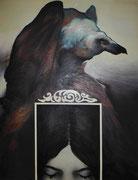 Suzanne et les vieillards, 1973 (huile sur toile, 144 x 110 cm, coll. part. GR)