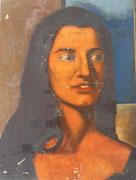 Janie (huile sur isorel, 31 x 42 cm, coll. part. MR)