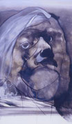 L'homme aux cheveux blancs, env. 1970, (huile, coll. part.)