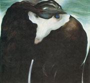 La bête, 1975, (huile, 162 x 174 cm, coll. part.)