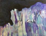 Falaises (huile sur toile, 73 x 60 cm, coll. part. MR)