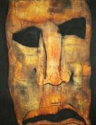 Le Masque, env. 1970 (huile, 126 x 100 cm, coll. part. JFC)