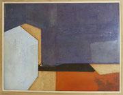 Sans titre, 1959 (huile sur toile, 63 x 48 cm, coll. part. MR)