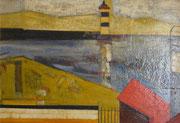 Rade de Brest, 1959 (huile sur isorel, 89 x 59 cm, coll. part. MCG)