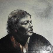 Autoportrait, 1978 (huile, 65 x 68 cm, coll. part. MR)