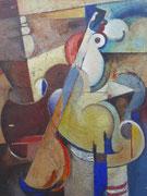 Sans titre, 1957 (huile sur carton, 62 x 46 cm, coll. part. MR)