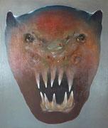 La bête (huile sur toile, 144 x 172 cm, coll. part. GR)