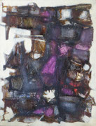 Abstraction mauve (huile sur isorel, 47 x 62 cm, coll. part. MR)