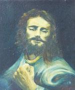 Le christ, 1950 (huile sur isorel, 37 x 47 cm, coll. part. MR)