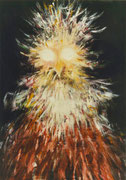 L'oiseau de feu, 1970 (huile, coll. part. JS)