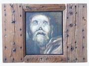 Gaspard Hauser, 1975, (huile sur bois, 43 x 61 cm, coll. part. MR)