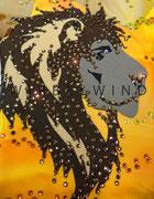 Detail Kürkleid `the lion king ´