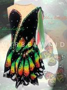 Kürkleid `Schmetterling ´, Vorderansicht
