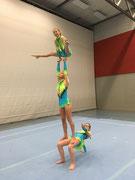 Kürkleidung Akrobatik